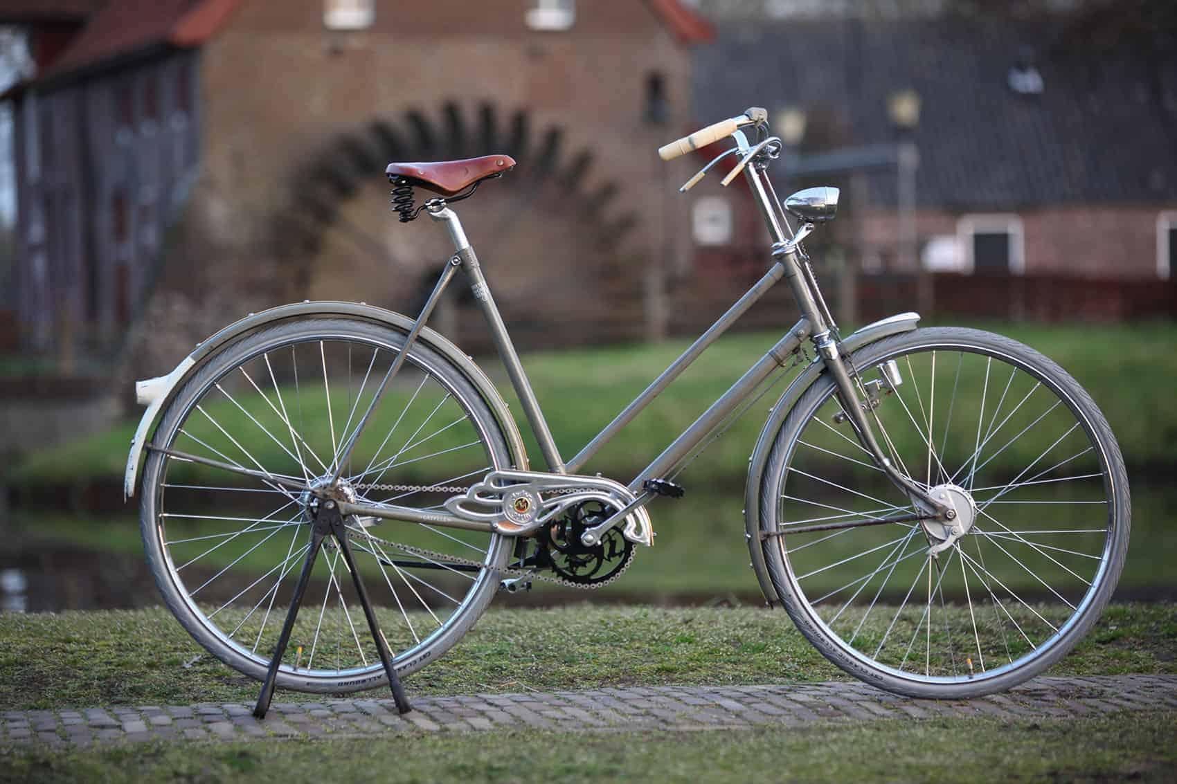 retro fiets elektrisch
